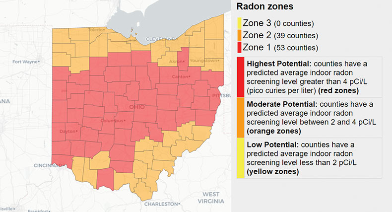 Have your home tested for radon by Ranney Properties